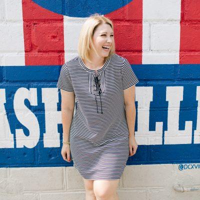 striped-t-shirt-dress-7